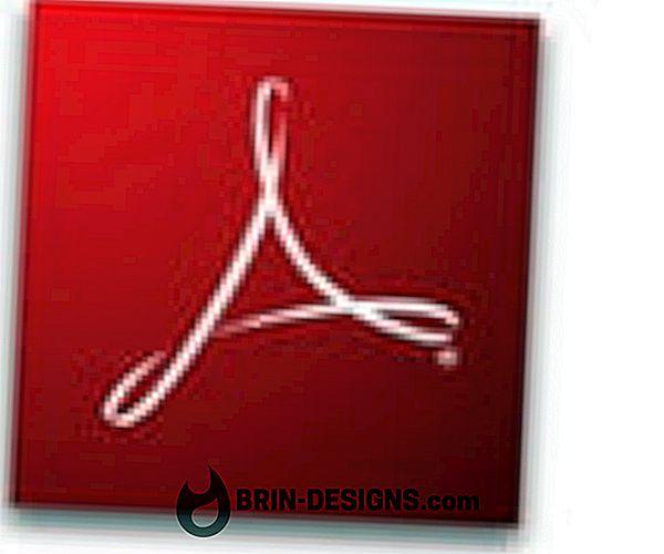 Mustahil untuk menghapus atau memperbarui Adobe Acrobat reader