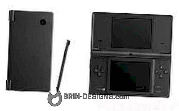 Nintendo DSI पर जावास्क्रिप्ट सक्षम करें