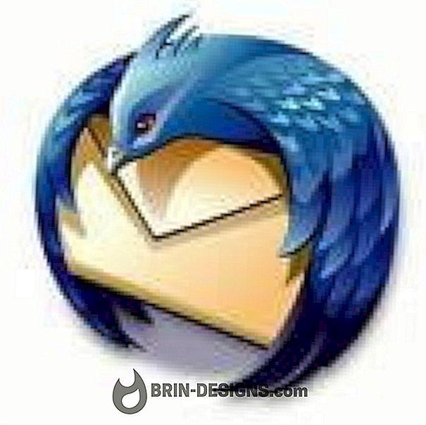 Kategori spill:   Thunderbird - Endre passordet til en konto