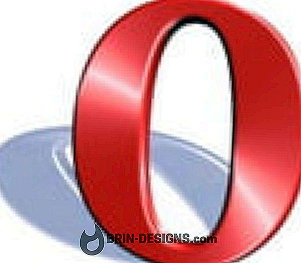 Opera - Aktifkan perintah Suara