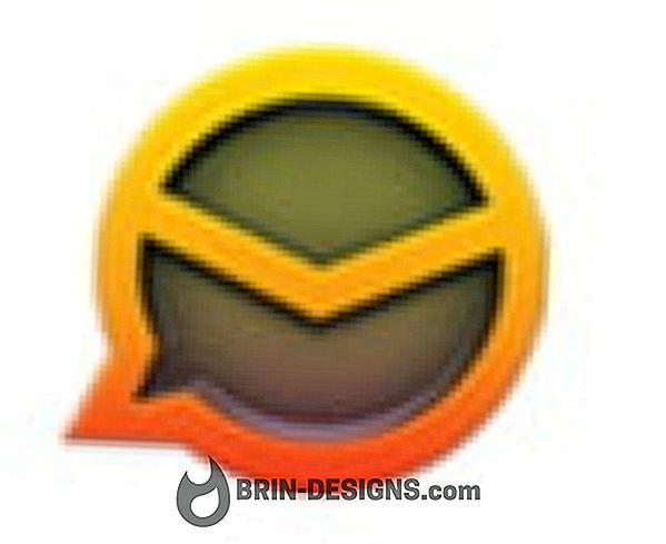 eMClient - Изключване на акаунт