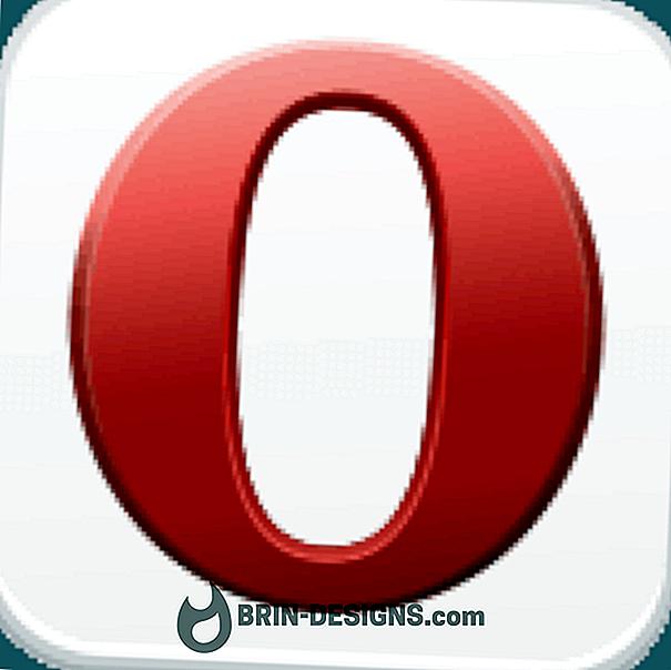 Opera untuk Android - Buka tab baru di latar depan