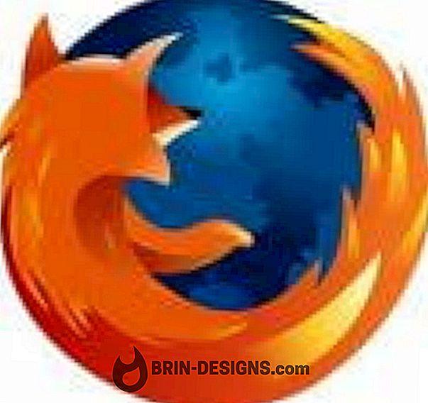 Firefox - tundlik disainivaade