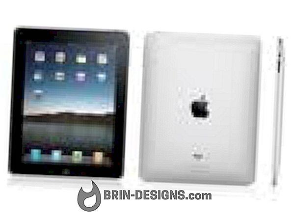Kategooria mängud:   Konfigureerige oma iPadile Gmaili, Hotmaili või Yahoo-i e-posti konto