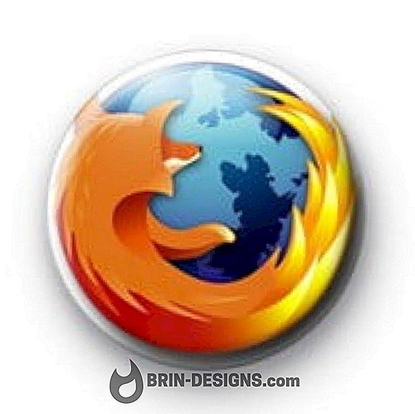 Kategori spill:   Mozilla Firefox - Kan ikke lagre som