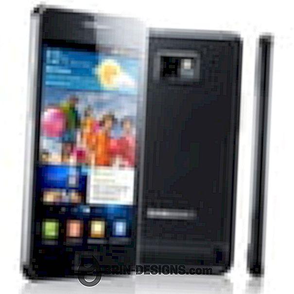 Samsung Galaxy S Plus - Deaktivieren Sie die Netzwerkbenachrichtigung