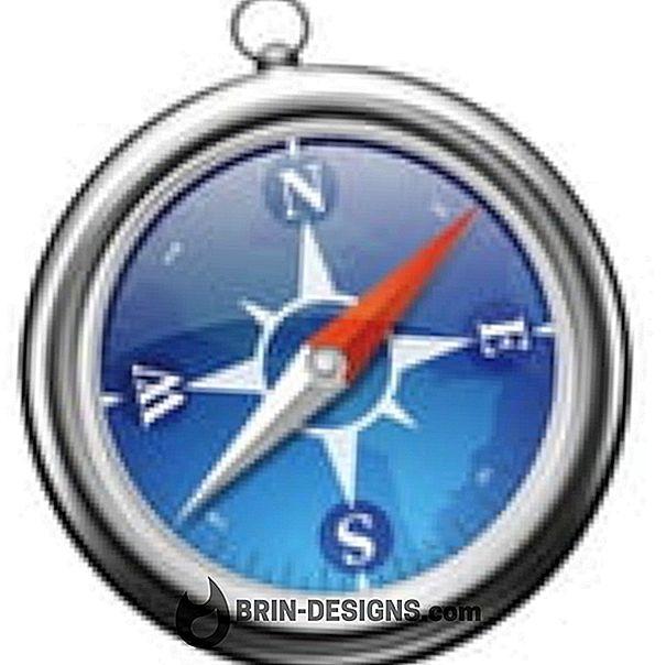 Safari - جعل علامة تبويب أو نافذة جديدة نشطة