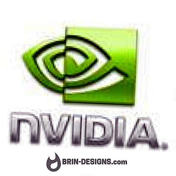 Nvidia Geforce - Mengemas kini pemandu kad grafik anda