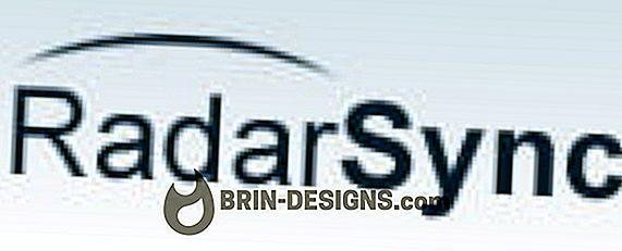 RadarSync PC updater - Installasjon og første bruk
