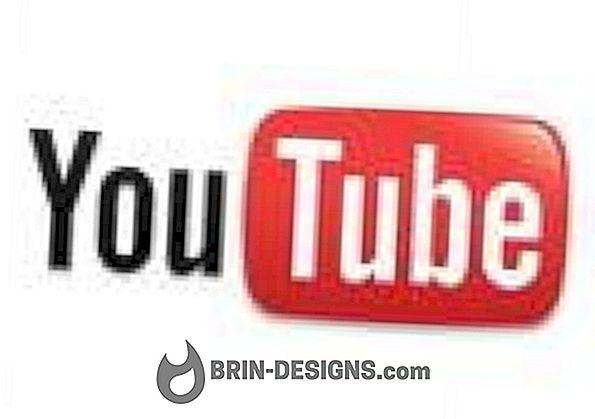 Kan ikke vise videoer på YouTube