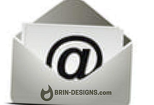 Kategórie hry:   'Undisclosed Recipients' v poli 'To' e-mailu