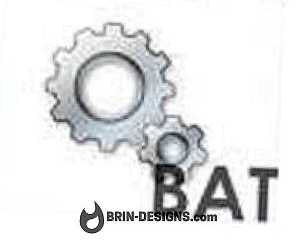 .Bat-tiedoston avulla voit avata tiedoston eri sijainnissa