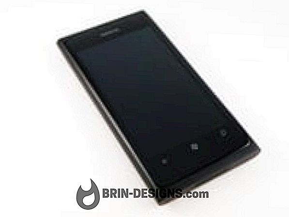 Nokia Lumia 800 - Atur ulang ponsel Anda dengan lembut