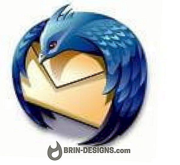 Categoría juegos:   ThunderBird - ¿Cómo agregar una firma?