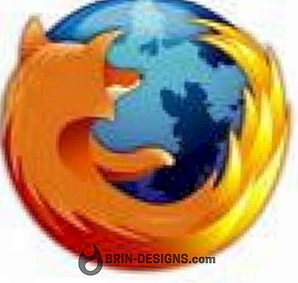 Firefox - Prázdna stránka sa otvára v nových záložkách