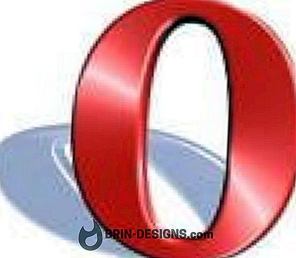 Opera - Online-lomakkeiden automaattisen täyttämisen poistaminen käytöstä