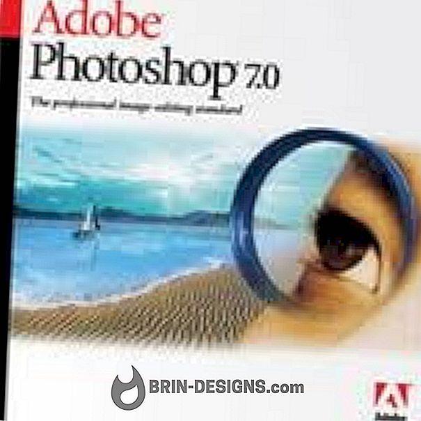Naredite svoj ognjemet - Photoshop 7