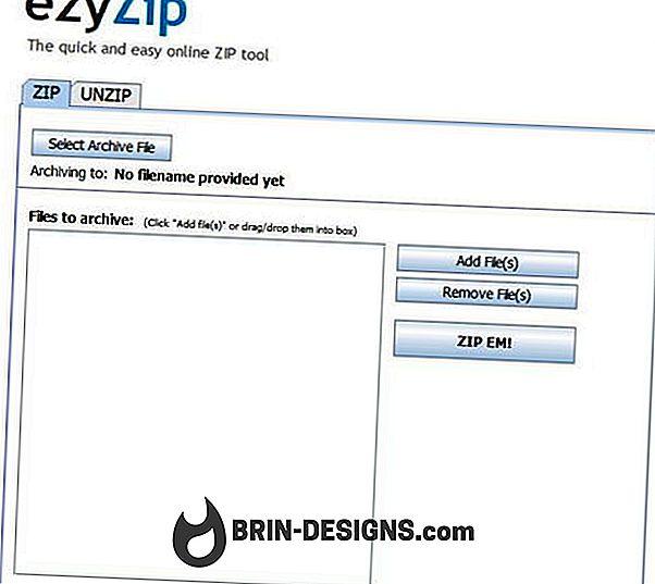Kategori spill:   ezyZip - Zip / Unzip filene dine på nettet