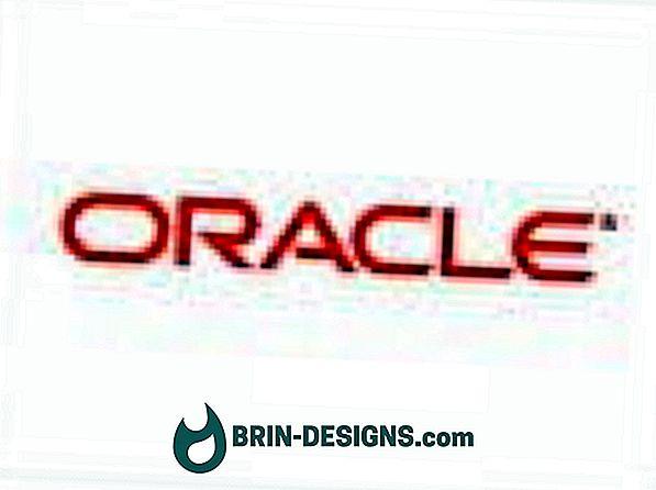 Oracle - Anzeigeparameter