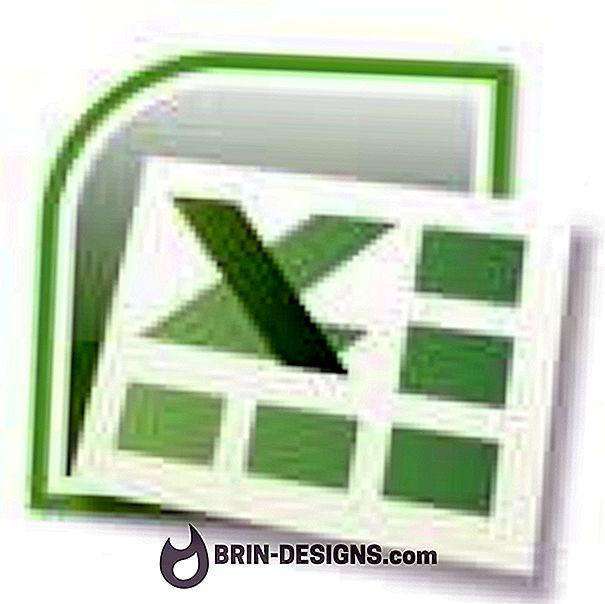 Excel - Endre tekst automatisk i kolonne