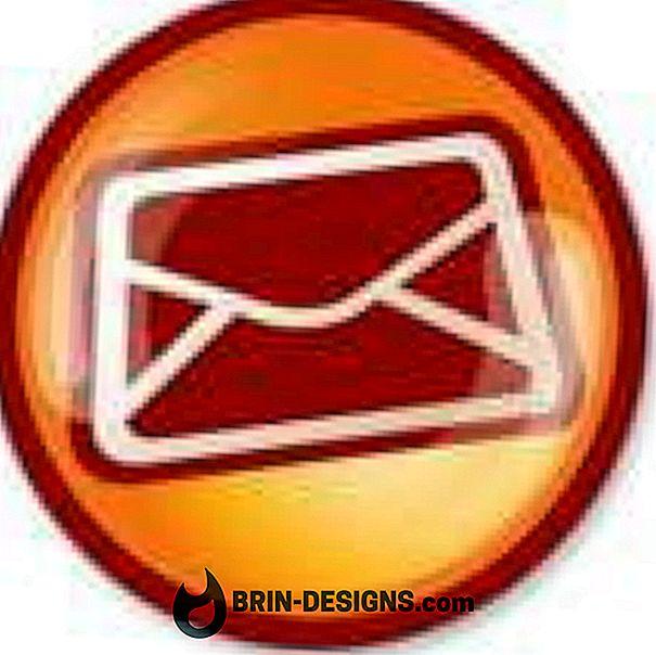 E-postklienter - Ikke avslørte mottakere