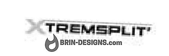 Kategori spel:   Skärning och ommontering av en fil med Xtremsplit