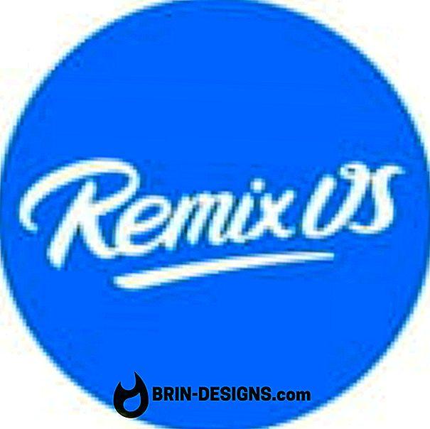 Bagaimana Untuk Memasang Remix 2.0 OS pada Windows