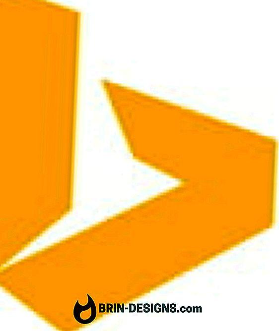 """Kategorija žaidimai:   """"Bing"""" - išjungti vaizdo įrašų ir panoraminių įrašų atkūrimą"""