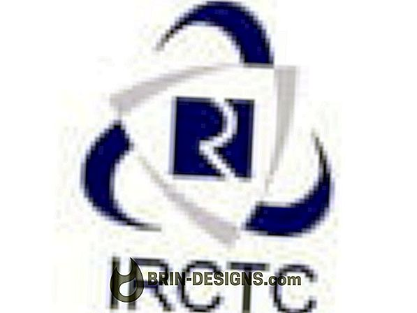 IRCTC konto parooli taastamine