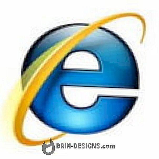 Internet Explorer - Benachrichtigungen deaktivieren, wenn Popup blockiert ist