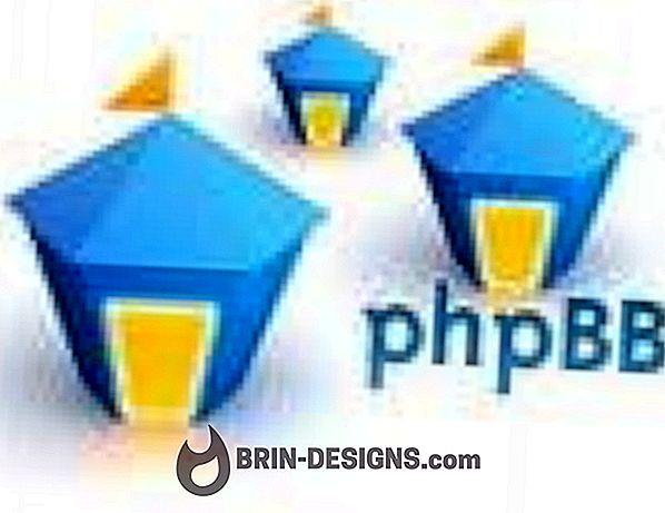 Opprette et forum med phpBB