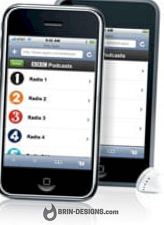 Wie entferne ich Podcasts vom iPhone?
