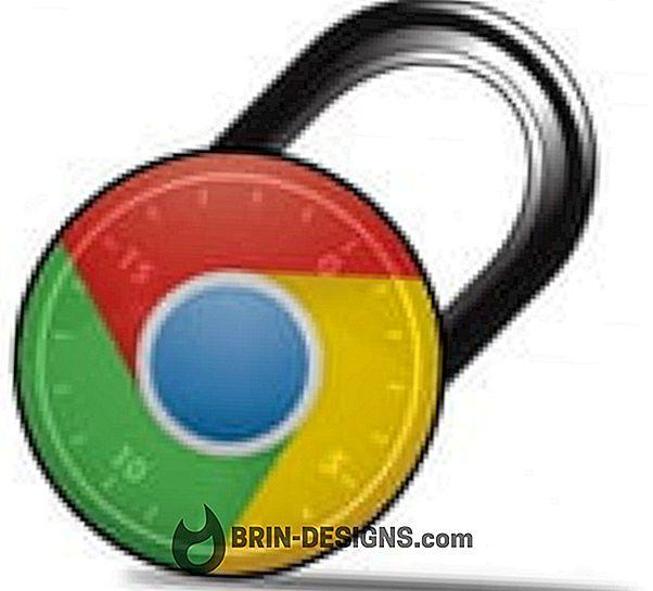 Sichern Sie Google Chrome mit einem Passwortmechanismus