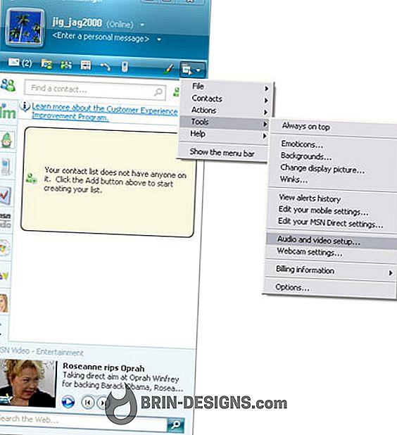 Kategooria mängud:   Kuidas konfigureerida oma veebikaamera msn messenger?