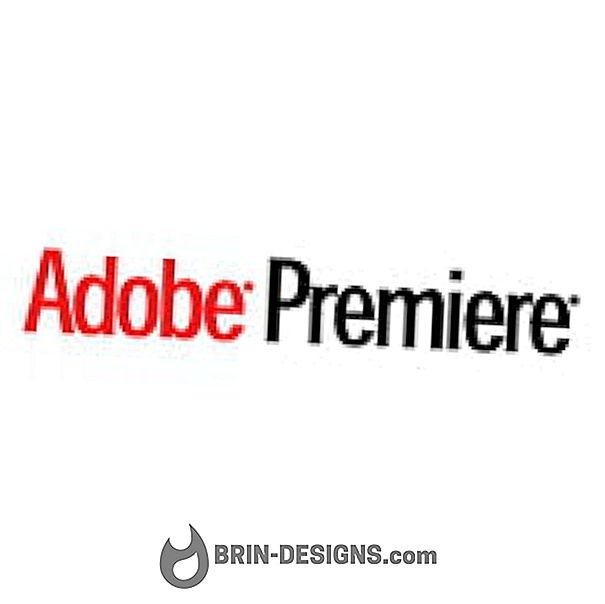 Adobe Premiere CS4 - Mengekspor masalah