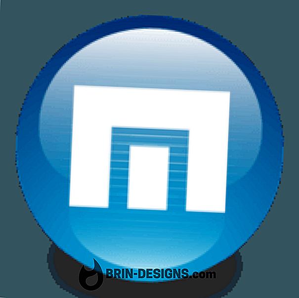 मैक्सथन क्लाउड ब्राउज़र - URL स्वतः पूर्णता अक्षम करें