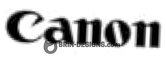 Canon MP400 / MP600 / MP700 / MP730 - Återställ bläckräknare