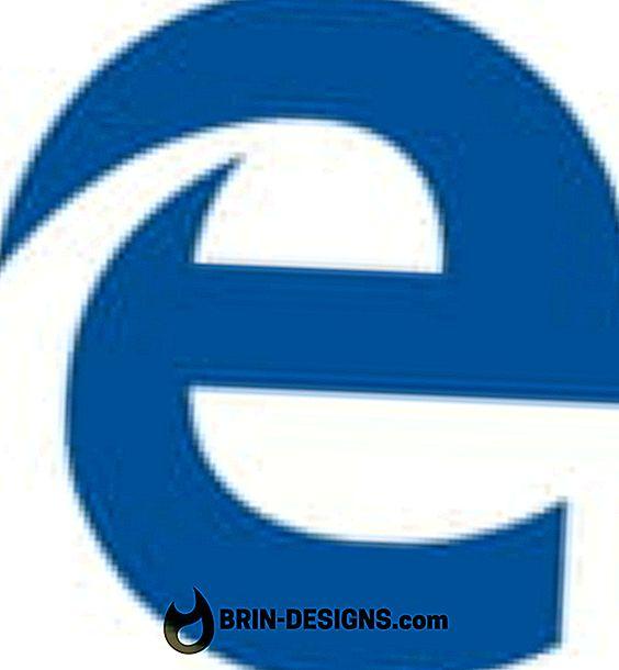 Kategorija spēles:   Kā atspējot SmartScreen filtru Microsoft Edge