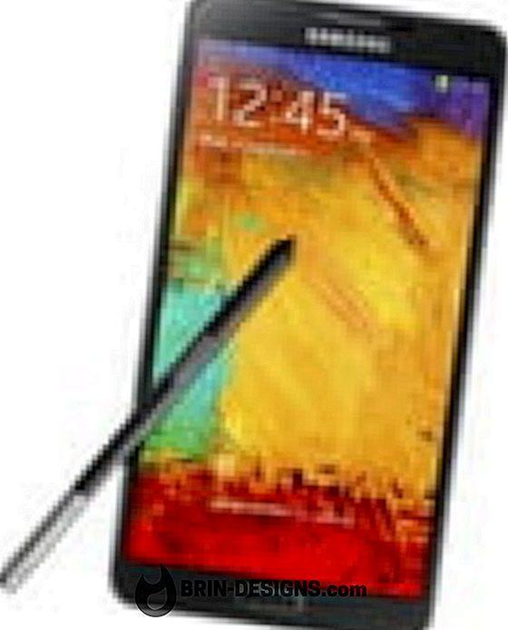 Samsung Galaxy Note 3 - Slå av S-pennen fest / fjern lyden