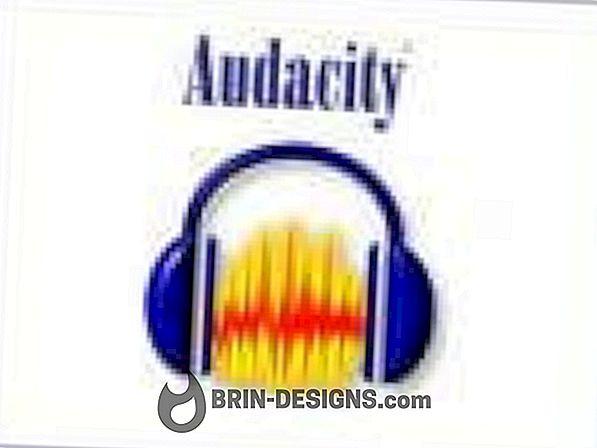 Audacity - Endre språkinnstillinger