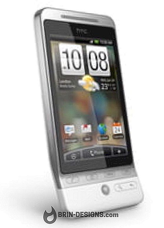 HTC Hero - Dil ayarlarını değiştir