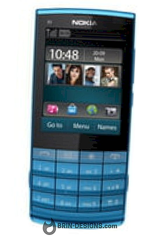 Nokia X3-02: उड़ान मोड को सक्रिय करें