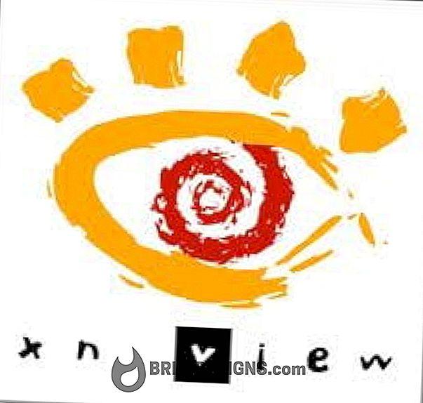Kategorie Spiele:   XnView, Copyright für Ihre Fotos