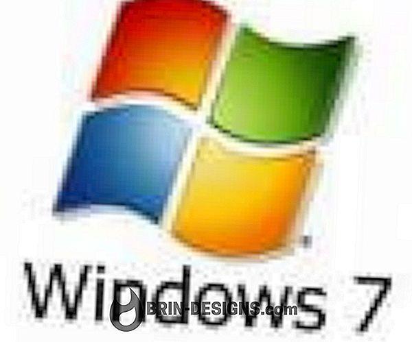 """Windows 7- Sulgemise ajal kuvatakse dialoog """"Tühi"""""""
