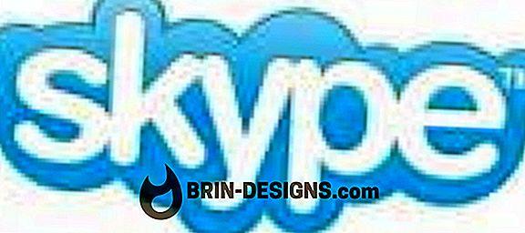 Skype - Lumpuhkan panggilan Video