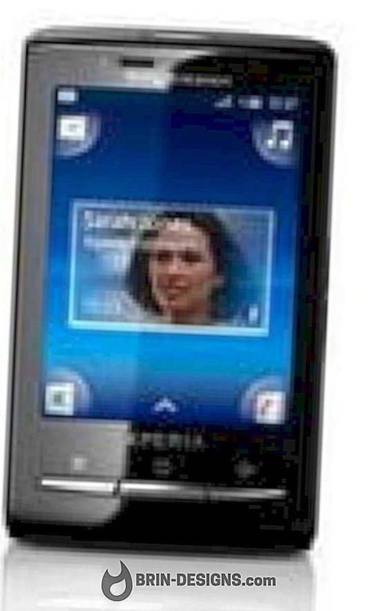 Aktifkan Bluetooth pada Xperia X10 Mini anda
