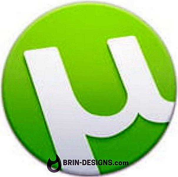 Kategorija spēles:   uTorrent Android - Kā iestatīt maksimālos augšupielādes / lejupielādes ierobežojumus