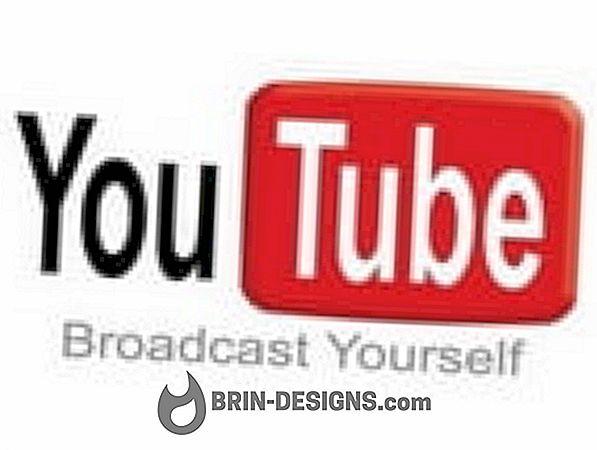 Youtube - Ako vypnúť úpravy návrhov