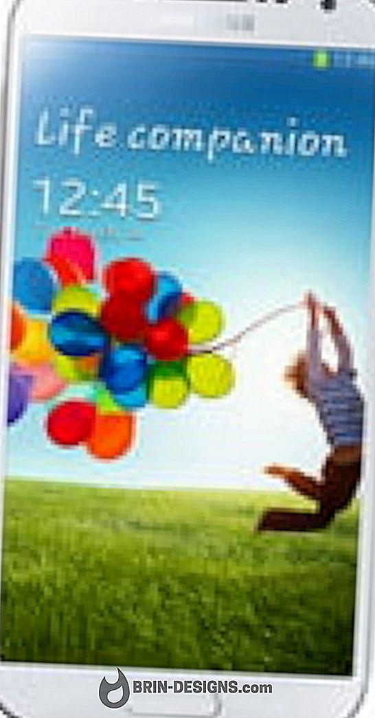 Samsung Galaxy S4 - Geslo naj bo vidno