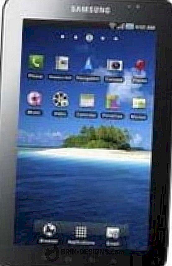 Samsung Galaxy Tab - Hvordan lage en understreking